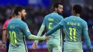 Schwere Verletzung und Randale trüben Barça-Gala