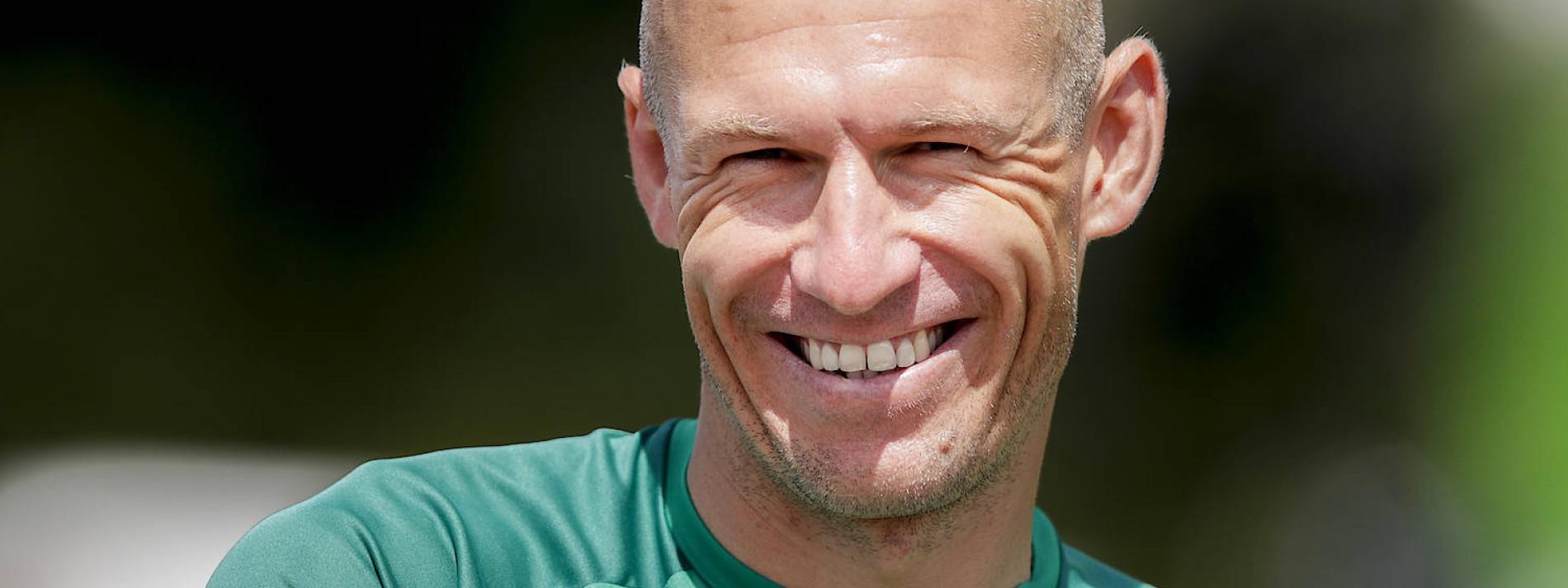 """Arjen Robben, die Liebe und der """"ultimative Traum"""""""