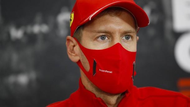 Es wird immer schlimmer bei Vettel und Ferrari