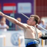 """77,36 Meter für Niklas Kaul: """"Ich weiß immer noch nicht, was ich zu dem Speerwurf sagen soll."""""""