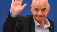 Die Wiederwahl von Fifa-Präsident Gianni Infantino ist nur Formsache.