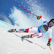 Überraschungssiegerin: Lara Gut-Behrami hatte seit drei Jahren keine Abfahrt mehr gewonnen.