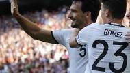 Hummels und Gomez äußern sich zu Italien