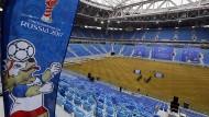 Der schöne Schein: das Fußball-Stadion von St. Petersburg wurde unter fragwürdigen Bedingungen erbaut