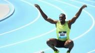 Usain Bolt läuft die Zeit davon