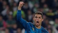 Cristiano Ronaldo und Real Madrid erlebten in Sevilla eine turbulente Partie.
