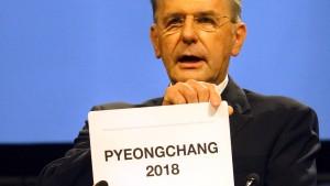 Pyeongchangs entgleistes Versprechen