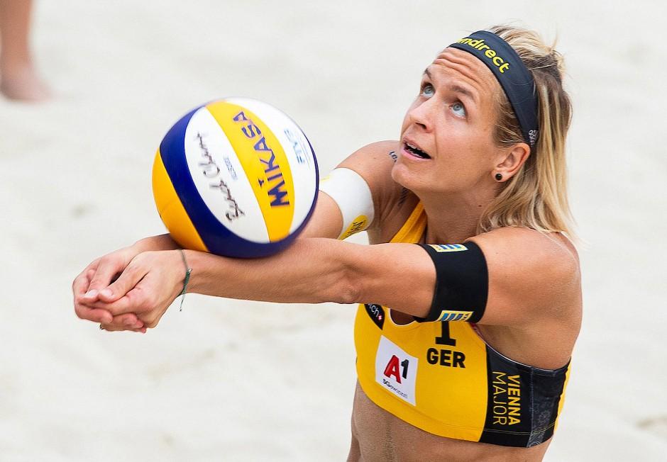 Laura Ludwig gewann 2016 in Rio Gold im Beachvolleyball.