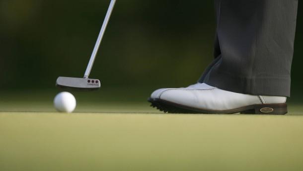 Die Grenzen der Golfspieler