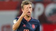Von Beginn an auf dem Feld, am Ende aber glücklos: Münchens Thomas Müller