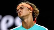 Zverev kämpft vergeblich gegen Nadal
