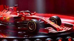 Neuer Formel-1-Wagen für Vettel