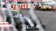 Ein Fehler macht alles zunichte: Nico Rosberg weiß das - im vergangenen Jahr hat er im Fürstentum gewonnen.