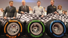 Presentation of new Pirelli tires