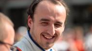 Ein lächelnder Robert Kubica: Kommt es für den gebeutelten Profi bald zur Rückkehr ins Formel-1-Auto?