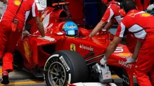 Alonso und die Hoffnung auf Regen