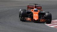 Alonso im McLaren-Hondo während seines Heim-Grandprixs in Spanien