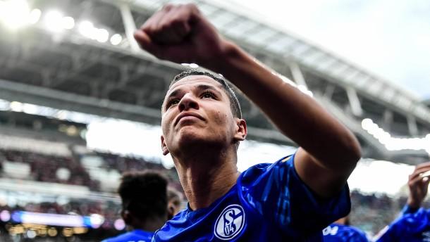Schalke-Party in Leipzig
