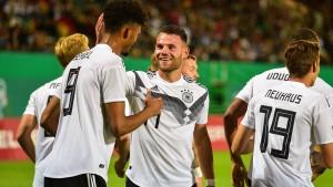 Deutschlands U-21 spielt stark auf