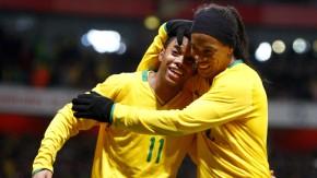 Robinho und Ronaldinho