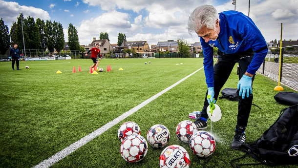 Belgische Fußball-Liga bricht Saison ab