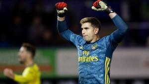 Arsenal als erstes Team im Viertelfinale