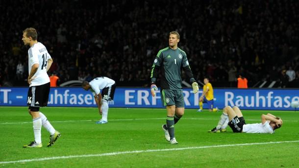 Aufmacher-Bild WM-Qualifikation - Deutschland - Schweden 4:4