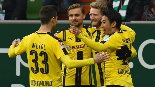 BVB trotz Überzahl nur glücklicher Sieger