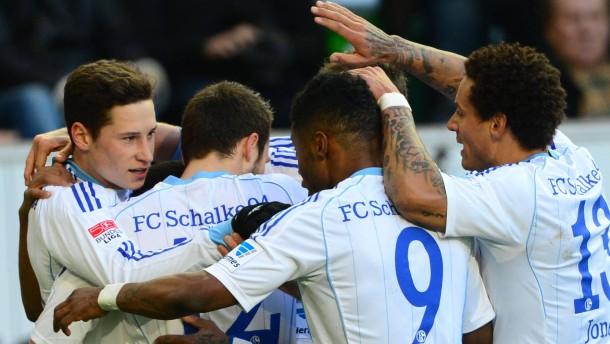 Draxlers königsblaue Fußballshow