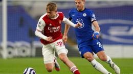 Arsenal gewinnt London-Derby gegen Chelsea mit 1:0
