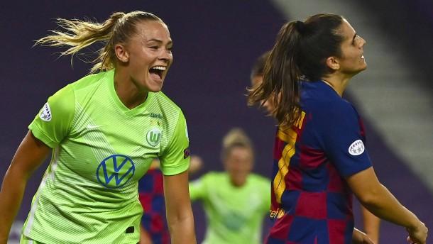 VfL Wolfsburg kämpft sich ins Finale
