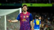 Torjäger der Superlative: Messi traf in der aktuellen Saison in der spanischen Liga 50 Mal