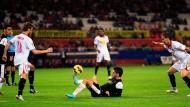 """Leichtfuß: """"Isco"""" (Mitte) führte den FC Malaga ins Achtelfinale der Champions League"""