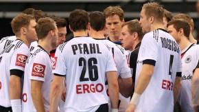 Handball Nationalmannschaft Vorbereitungsspiel : Deutschland - Rumänien