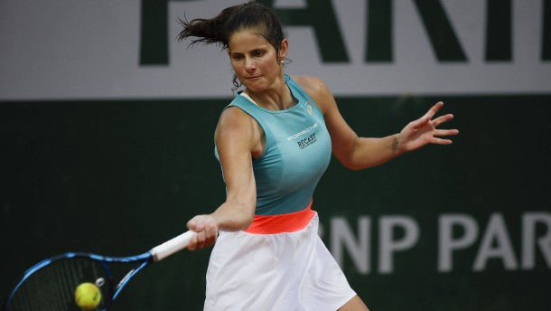 Auch Julia Görges in zweiter Runde der French Open
