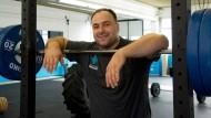 Einen starken Mann haut nichts um: Almir Velagic