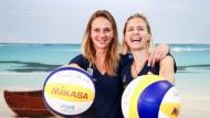 Neues Dream-Team? Margareta Kozuch (links) und Laura Ludwig