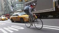 Straßenkrieger in Manhattan