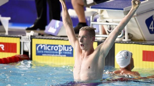 Wellbrock holt Gold über 1500 Meter Freistil – in Rekordzeit