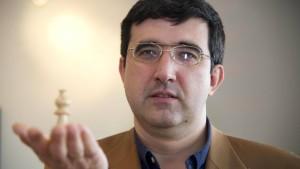 Wenn nur die Katastrophentage nicht wären: Dortmunds Schachliebling Kramnik.