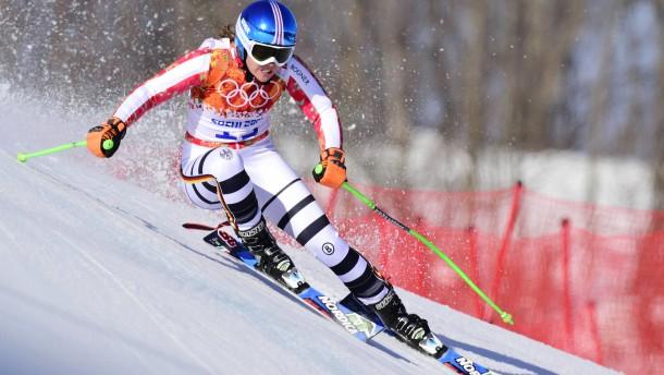 Viktoria Rebensburg jagt wieder
