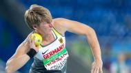 Liebhardt krönt ihre Karriere mit Gold