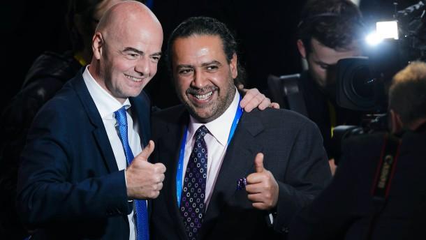Funktionär al Sabah beendet Fifa-Arbeit