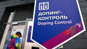 Erstmals unabhängige Dopingkontrollen