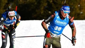 Schempp führt deutsches Team zum Staffelsieg