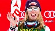 Coole Pose: Mikaela Shiffrin dürfte in diesem Winter häufiger auf dem Siegerpodest stehen.