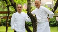 Zwei Brüder, eine Leidenschaft: Die Köche Karl und Rudi Obauer.