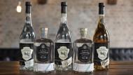 Im Sortiment gibt es nicht nur Gin, sondern auch guten Whiskey und Wodka.