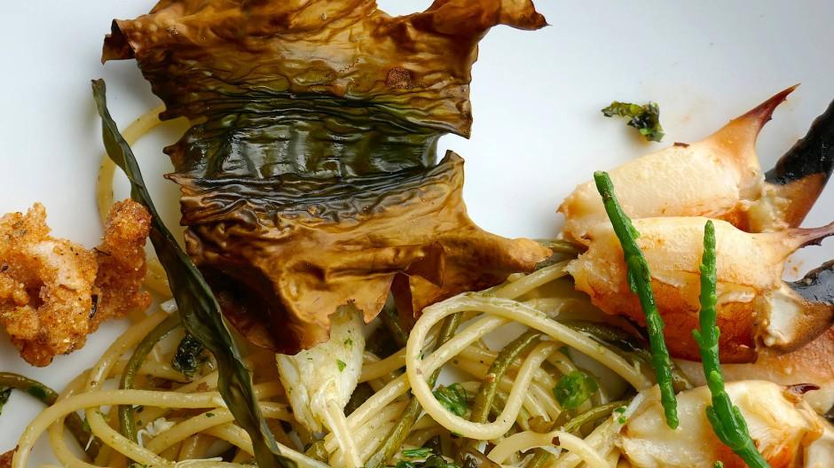 """Wasser, Wind und Wellen im Mund: die """"Seafood Tasting Plate"""""""