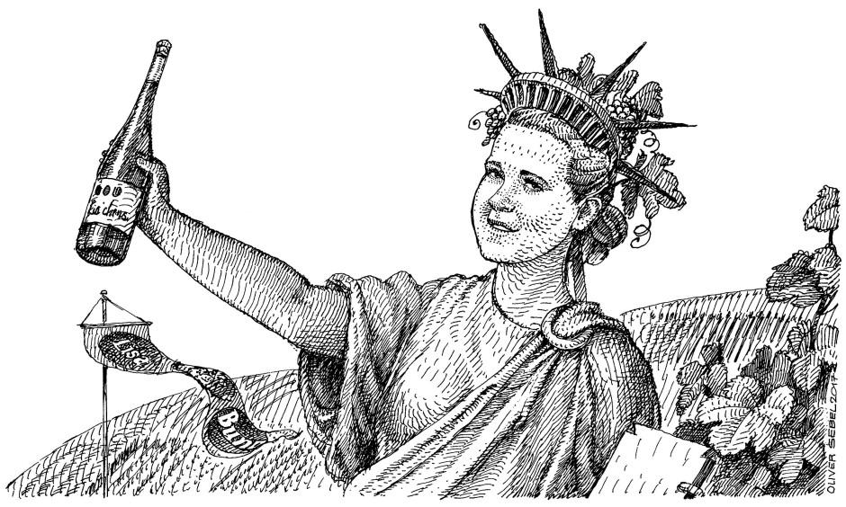 Mit Donald Trump hat Winzerin Lisa Bunn zum Glück nur wenige Gemeinsamkeiten.
